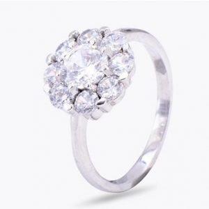 """Сребърен пръстен """"Наслада"""""""